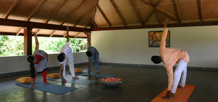 New Yoga Hall at The Hermitage Neeleshwar