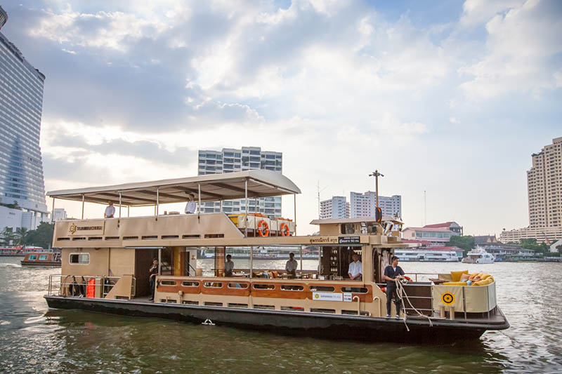 Supanniga Cruise, Chao Phraya River, Bangkok, Thailand