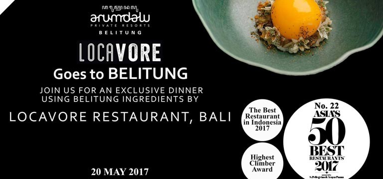 Restaurant Locavore goes to Belitung!