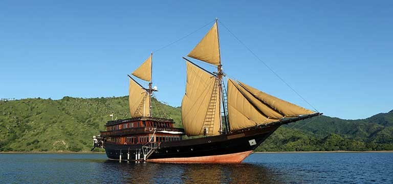 Discover Indonesia Aboard a Traditional Phinisi Yacht