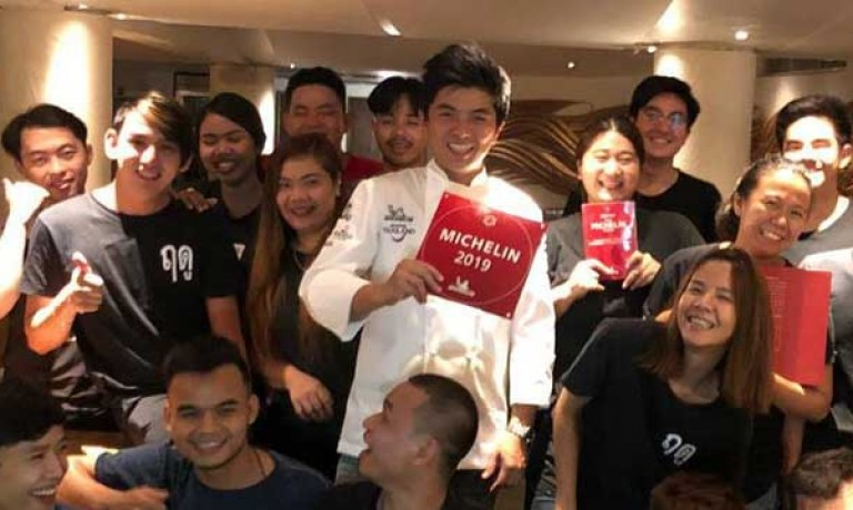 Le Du (Bangkok), the third Secret Table to receive a Michelin star