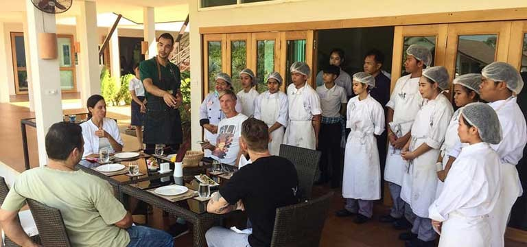 Chef Steven (Empty Plates, Bangkok) shares his passion for teaching underprivileged youth in Thailand