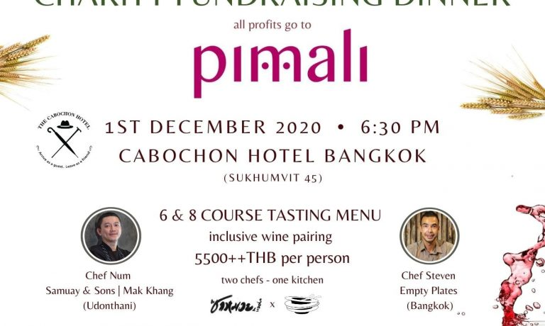 Pimali Foundation's Fundraising Dinner at Cabochon