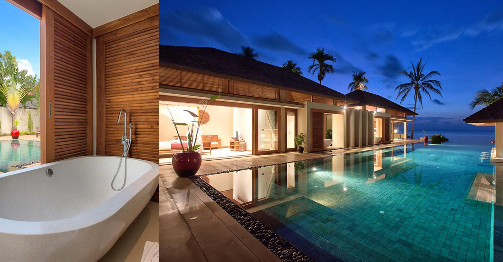 Asia luxury hotels inns collection by secret retreats for Koi pool villa koh tao