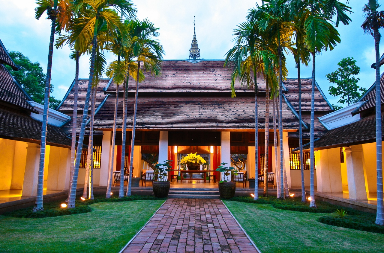 Rachamankha hotel chiang mai luxury boutique hotels for Best design boutique hotels thailand