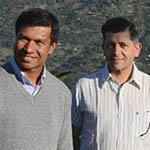 Marcus Cotton & Jhalak Raj Chaudhary