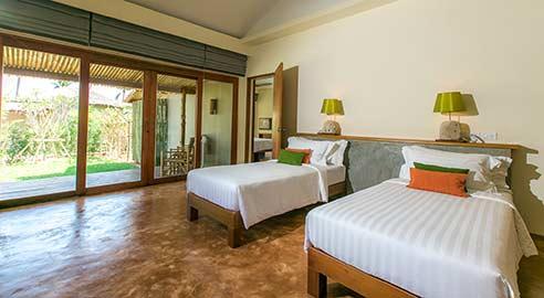 Two-bedroom pool villa (2 units)
