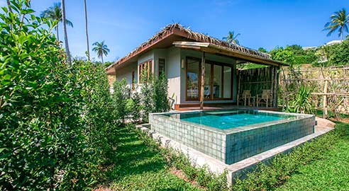 Two-bedroom pool villa (2 units)