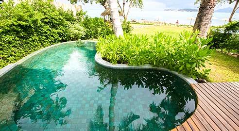 Beach Front Pool Villa (3 units)