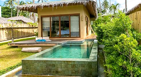 Sea Shell Pool Villa (4 units)