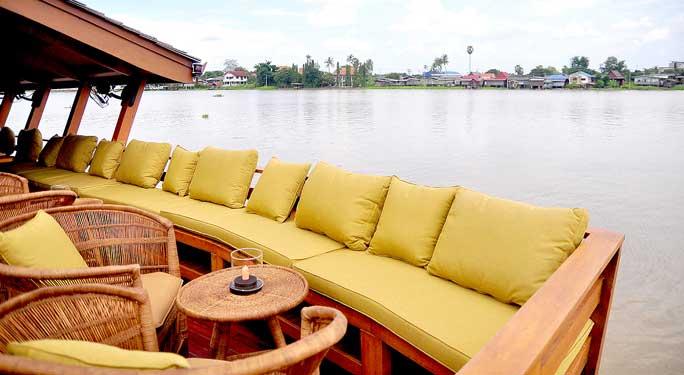 Thai Namthip Luxury Rice Barge highlight